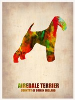 Airedale Terrier Fine Art Print