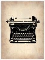 Vintage Typewriter 2 Fine Art Print