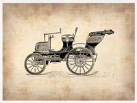 Classic Old Car 2 Framed Print