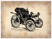 Classic Old Car 4 Framed Print