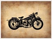 Vintage Motorcycle 1 Fine Art Print