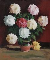 Chrysanths Fine Art Print