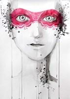 Mask Fine Art Print