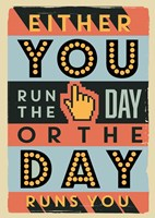 Run The Day Fine Art Print