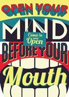 Open Your Mind Fine Art Print