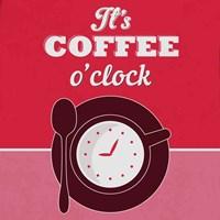 It's Coffee O'clock 1 Fine Art Print