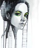 Green Eyes Fine Art Print
