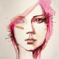 Pink Lana Fine Art Print