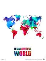 It's a Beautifull World Fine Art Print