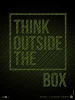 Think Outside of The Box Fine Art Print