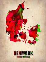 Denmark Watercolor Fine Art Print