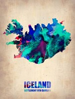 Iceland Watercolor Fine Art Print