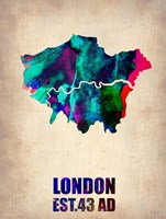 London Watercolor Fine Art Print