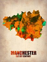 Manchester Watercolor Fine Art Print