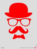Hats Glasses and Mustache 2 Fine Art Print