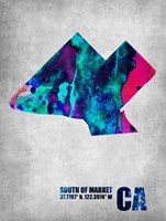 South of the Market California Fine Art Print