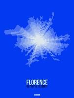 Florence Radiant Map 4 Fine Art Print