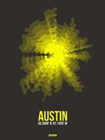 Austin Radiant Map 3 Fine Art Print