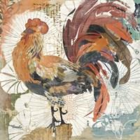 Rooster Flair II Fine Art Print
