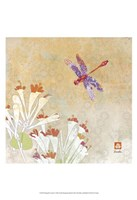 Dragonfly Lustre I Framed Print