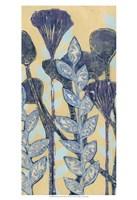 Chromatic Floral Mix II Framed Print
