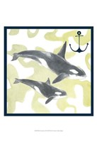 Whale Composition III Fine Art Print