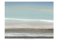 Distant Coast I Framed Print