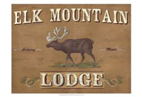 Lodge Sign III Fine Art Print
