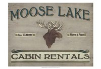 Lodge Sign IV Fine Art Print