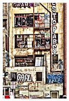 Urban Tags I Fine Art Print
