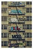 Urban Tags II Fine Art Print