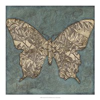 Collage Butterfly II Framed Print