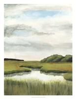 Marsh Landscapes II Framed Print