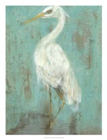 Seaspray Heron II Framed Print