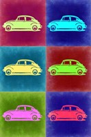 VW Beetle Pop Art 2 Fine Art Print