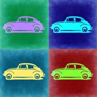 VW Beetle Pop Art 3 Fine Art Print