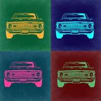 Chevy Camaro Pop Art 2 Fine Art Print