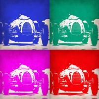 Audi Autounion Pop Art 1 Fine Art Print