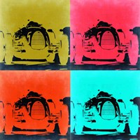 Audi Autounion Pop Art 2 Fine Art Print