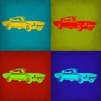 Ford Mustang Pop Art 1 Fine Art Print