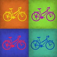Vintage Bicycle Pop Art 1 Fine Art Print