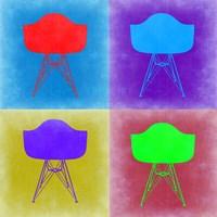Eames Chair Pop Art 3 Fine Art Print