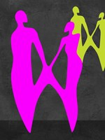 Purple Couple Fine Art Print