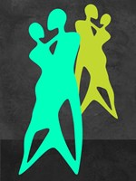 Green Dance Fine Art Print