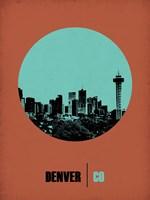 Denver Circle 1 Fine Art Print