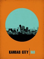 Kansas City Circle 1 Fine Art Print