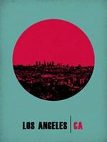 Los Angeles Circle 1 Fine Art Print