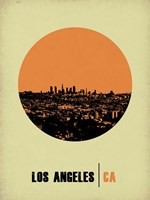 Los Angeles Circle 2 Fine Art Print