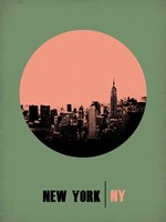New York Circle 1 Fine Art Print