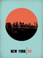 New York Circle 2 Fine Art Print